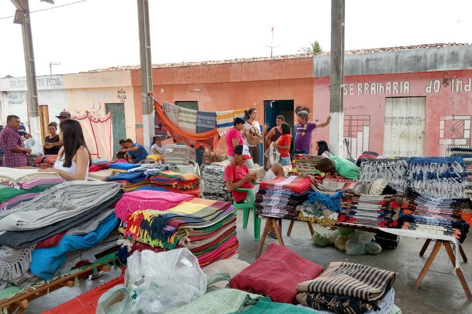 Feira de artesanato ao ar livre de Caraibeiras